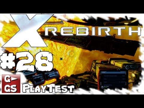 Lets Play X Rebirth #28 Wir bauen eine Station Gameplay Space Simulator deutsch HD kommentiert