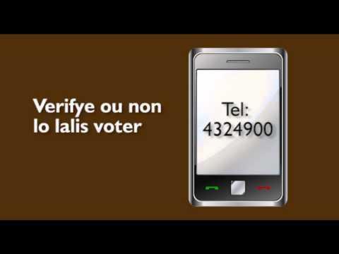SBC SEYCHELLES - Ledikasyon Voter - Verifye ou Non