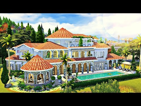 The Sims 4 | CELEBRITY VILLA | Speed Build