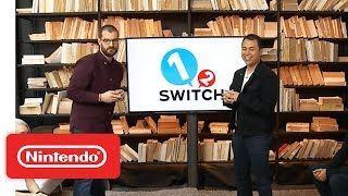 1-2-Switch – Nintendo Treehouse: Live with Nintendo Switch