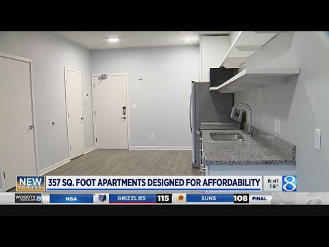 New Downtown GR Apartments Offer Small Space Living