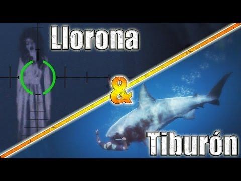 GTA V | El Fantasma De La Llorona Y El Tiburón Blanco | Easter Egg