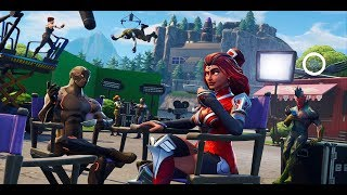 BLOCKBUSTER 6 - SECRET HIDDEN BATTLE STAR - SEASON 4 WEEK 6 - Fortnite Battle Royale - challenge