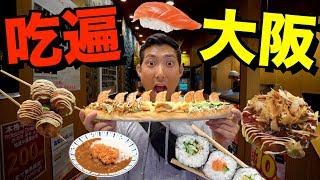 一天的吃喝玩樂都在這條街解決了!吃遍大阪!【劉沛 VLOG】 thumbnail