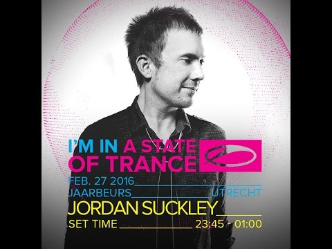Jordan Suckley - Live @ A State Of Trance 750, Utrecht (Stage Who's Afraid Of 138) - 27.2.16
