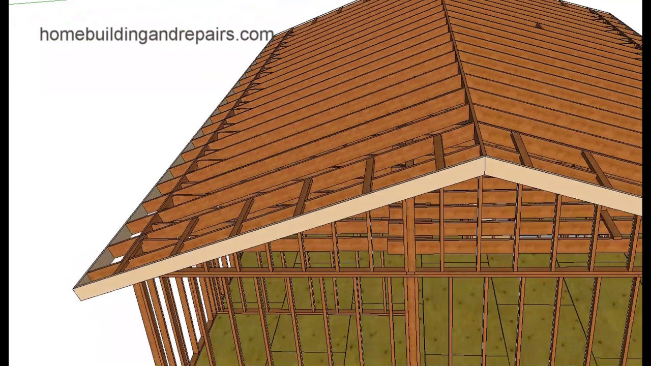Roof Bracing Modifications For Attic Storage Home