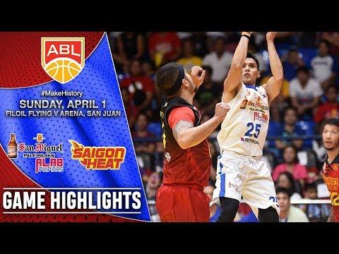 HIGHLIGHTS: Alab Pilipinas vs. Saigon Heat (VIDEO) April 1 | QF Game 1