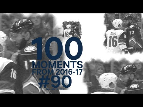 No. 90/100: Max Domi drops Kesler with one punch