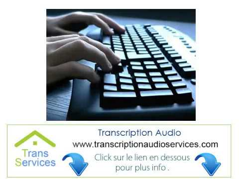 offshore Transcription Audio A Domicile