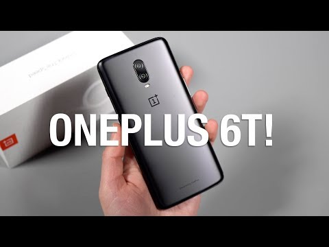 OnePlus 6T Unboxing and First Look!