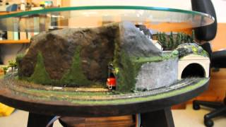 Zannulus Coffee Table Model Train Layout 2014