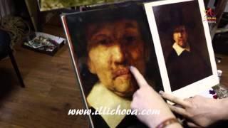 Презентация видео урока живописи ''Расплавленное золото Рембрандта''