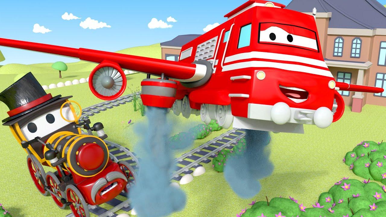 Xe lửa Troy - Xe lửa bón phân ! - Thành phố xe