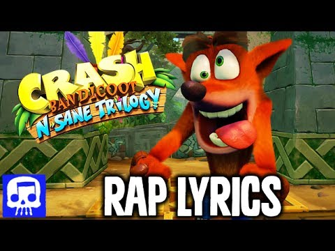 "Crash Bandicoot Rap LYRIC VIDEO by JT Machinima - ""The Ooda-Booga Boogie"""