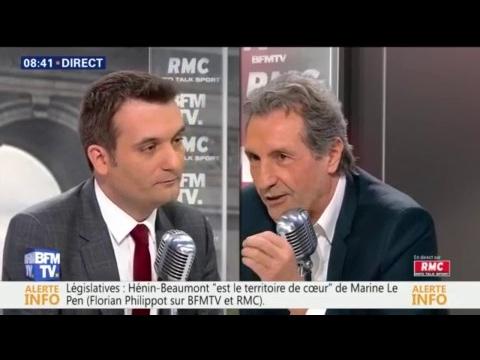 """Marine Le Pen """"regrette"""" son débat, """"ce qui peut être salué', dit Florian Philippot"""