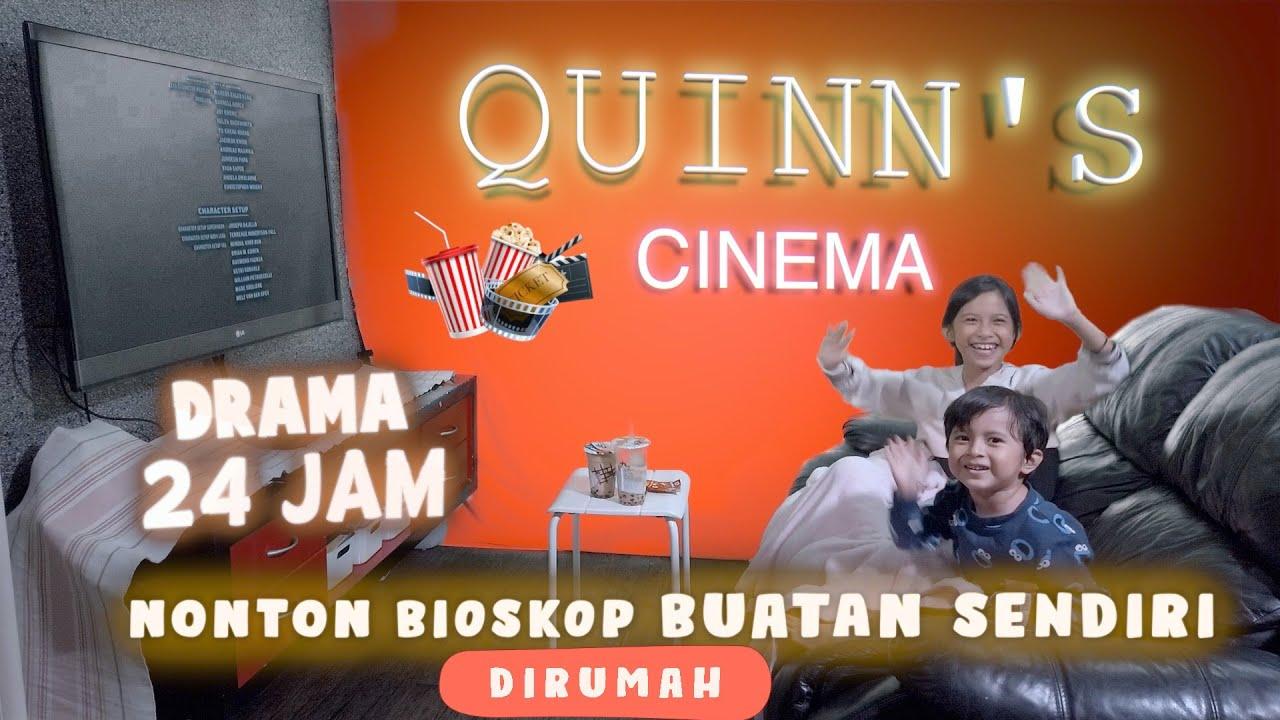 DRAMA | 24JAM Nonton Bioskop Buatan Sendiri DiRumah
