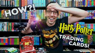 HOW Did I Pull THE RAREST Trading Card?! | Opening a FULL Vintage Goblet of Fire Box by Artbox
