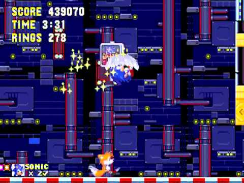 Sonic The Hedgehog 3 Part 4: Carnival Night Zone (Super Sonic & Tails)