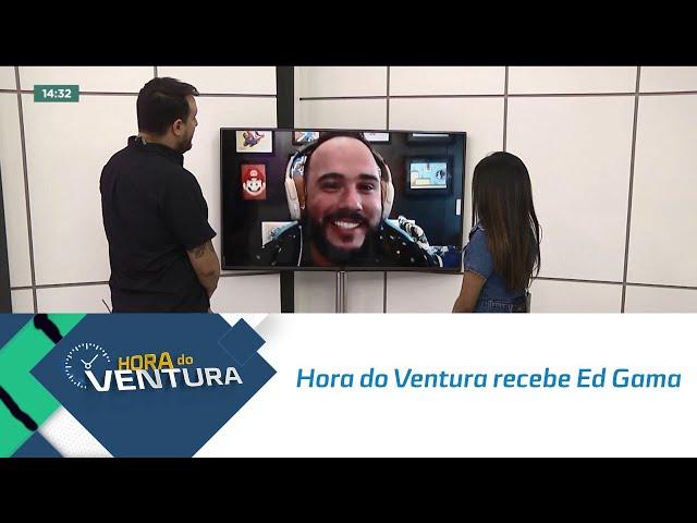 Hora do Ventura recebe Ed Gama