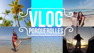 VLOG île de Porquerolles / Discover South of France ⛵ Night On A boat (+ English Subtitles)