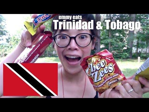 Emmy Eats Trinidad and Tobago - tasting Trini snacks & sweets