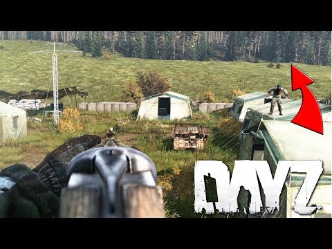 Zero IQ Play In DayZ! Ringing The Dinner Bell At A Mil Base...