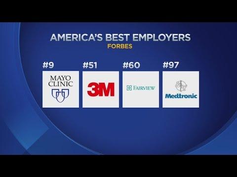 4 Minnesota Companies Make Forbes' Best Employers List