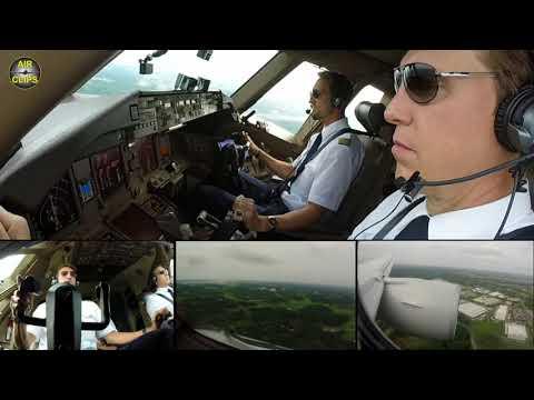 STUNNING! Sebastian perfectly nails Boeing 777F into Tokyo Narita: Lufthansa Cargo! [AirClips]