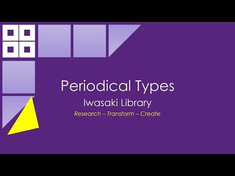 Periodical Types
