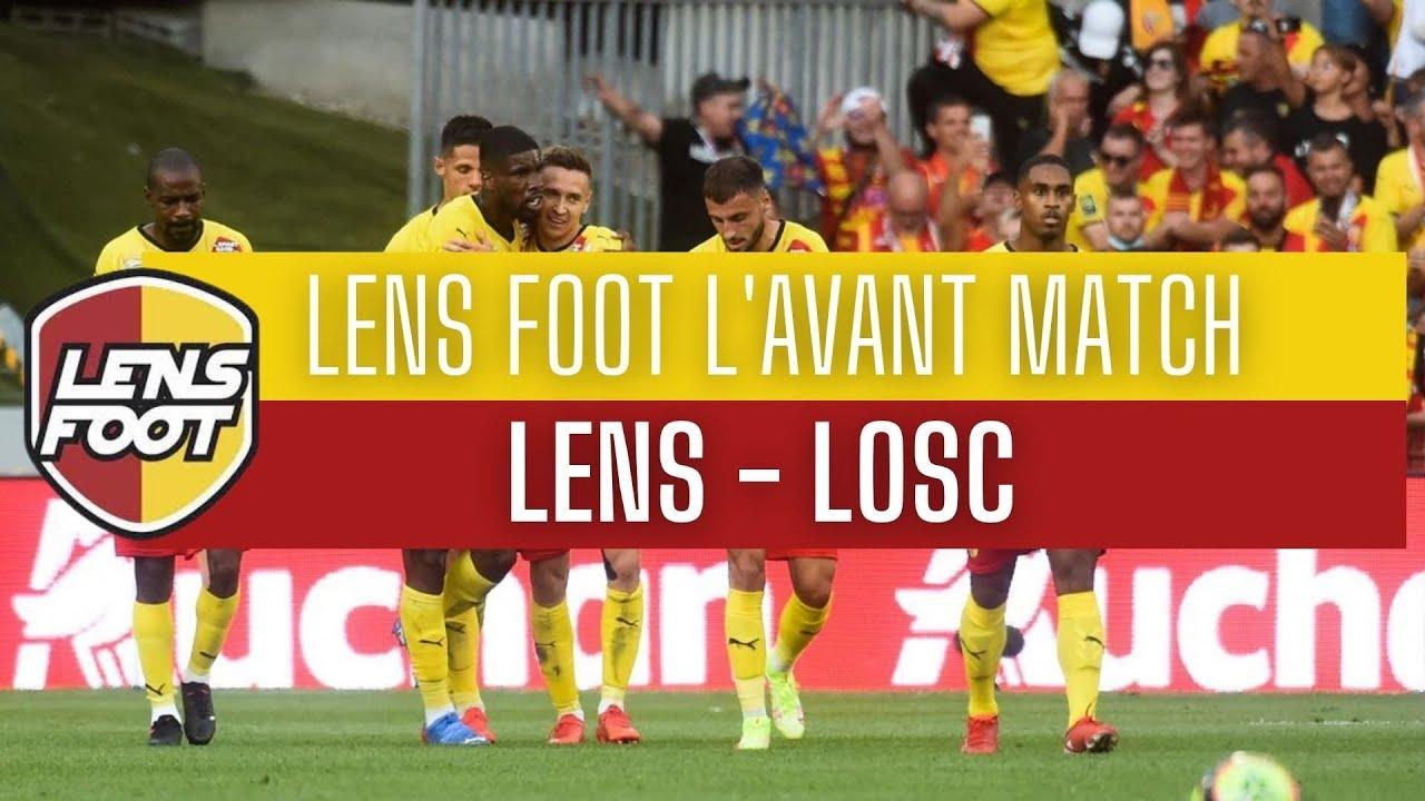 Download LENS FOOT L AVANT MATCH RC LENS LOSC