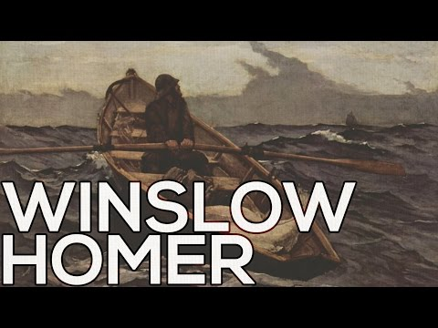 Winslow Homer: A Collection Of 161 Paintings (HD)