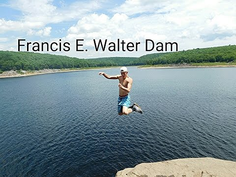 Francis E. Walter Dam CLIFF JUMPING