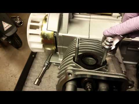 GY6 150cc Top End Disassembly