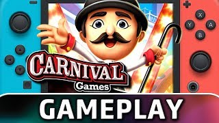 Carnival Games | First 15 Minutes on Switch