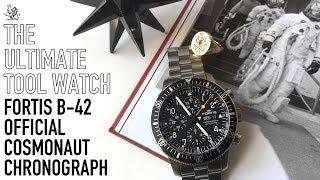 Коли Великі Годинник Зроблено Відмінно! - Фортіс Б-42 Офіційний Космонавтів Хронограф Годинник Огляд
