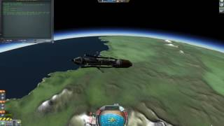 kOS complete launch and landing