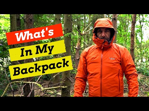My Wildcamping & Backpacking Gear List.