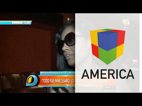 Paola Miranda: No voy a permitir que Santiago Bal me falte el respeto