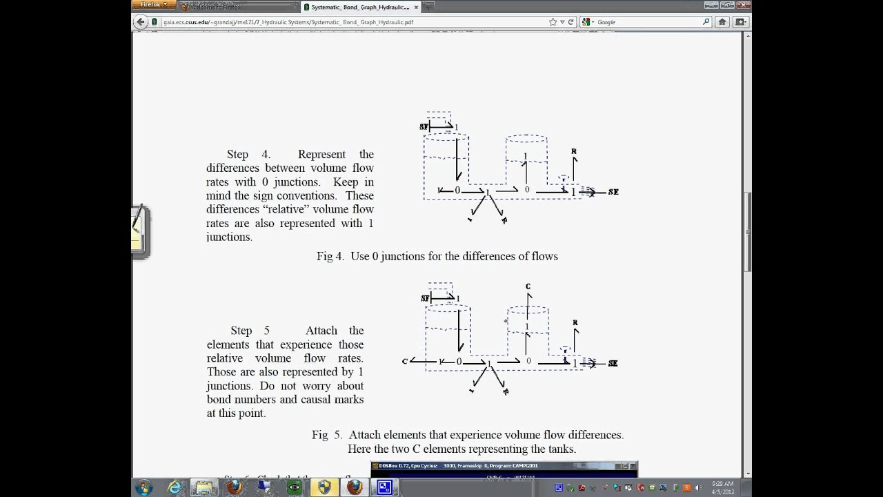Hydraulic Systems Modeling Procedure Youtube Fig 1 Basic Circuit Working Of A Don