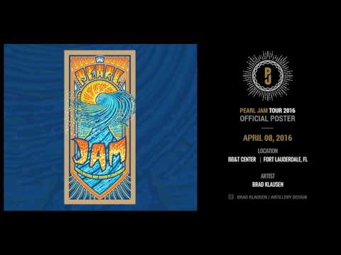 Pearl Jam - Fort Lauderdale, Florida Apr 2016. Full Album