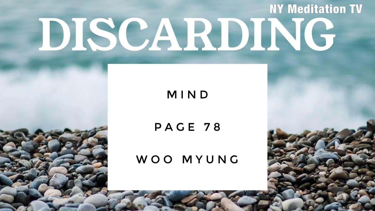 Writing of Woo Myung - Discarding