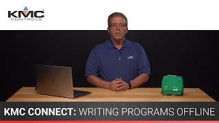 KMC Connect: Writing Programs Offline