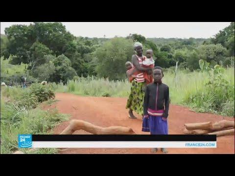 لاجئون من جنوب السودان يهربون إلى أوغندا مشيا على الأقدام  - 13:22-2017 / 6 / 21