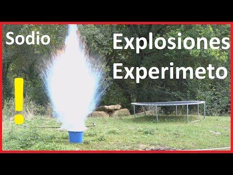 Explosiones, Disparos y Experimentos con Sodio (Na)