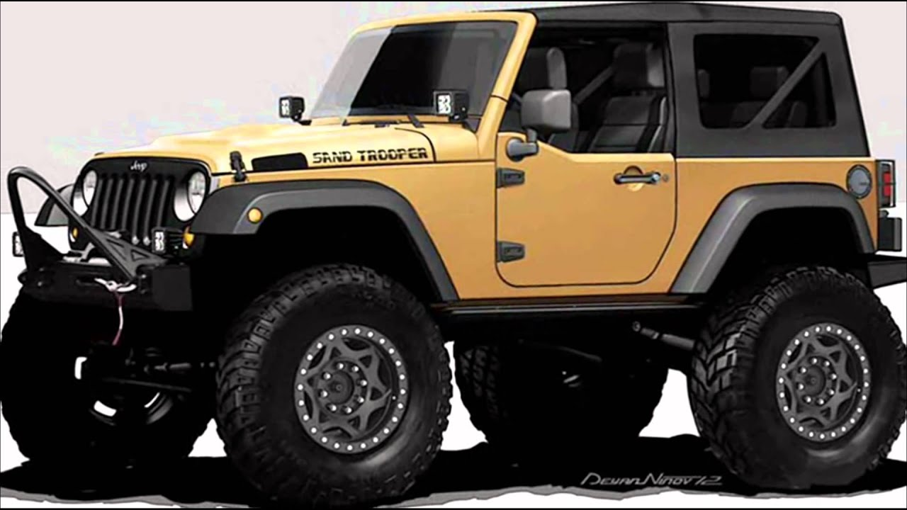 2012 jeep wrangler sand trooper concept 5 7 hemi v8 375 cv. Black Bedroom Furniture Sets. Home Design Ideas