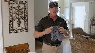 Coach Gruden Tackles Laundry Duties For Mother's Day