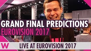 Eurovision 2017 predictions: Who will win the grand final?