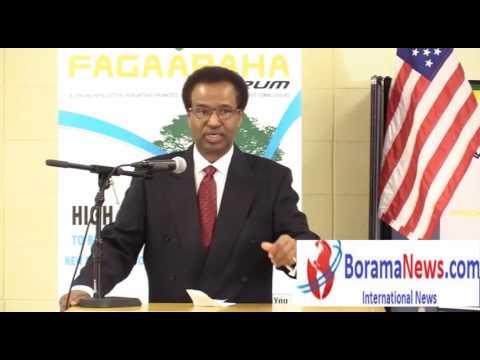 Prof Xuseen Warsame Oo Raadsaday Raysalwasaarenimo