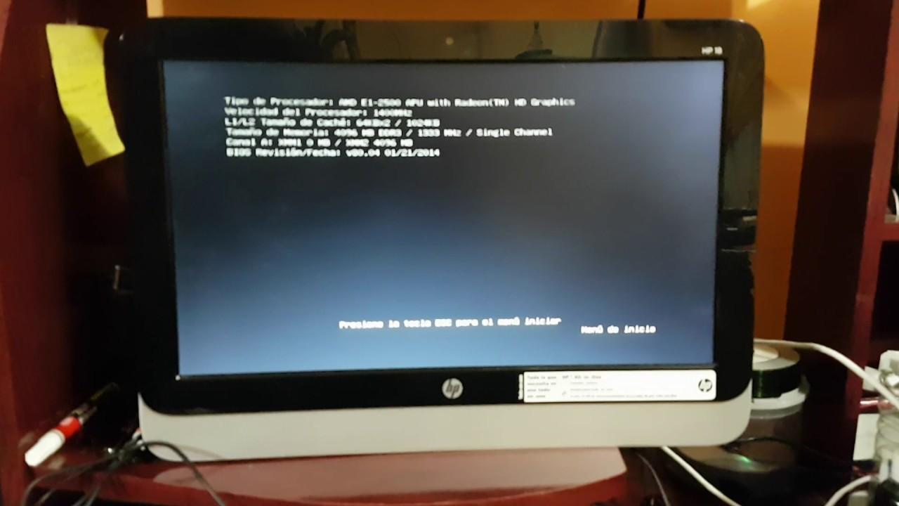 como formatear mi laptop hp windows 10