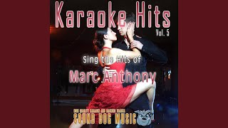 I Wanna Be Free (Karaoke Version) (Originally Performed By Marc Anthony)